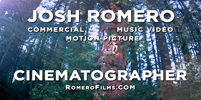 Romero_Cinematographer_Reel